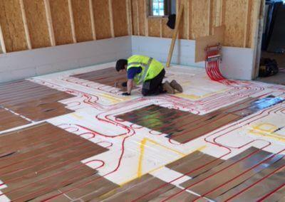 Underfloor Heating skilled tradesman