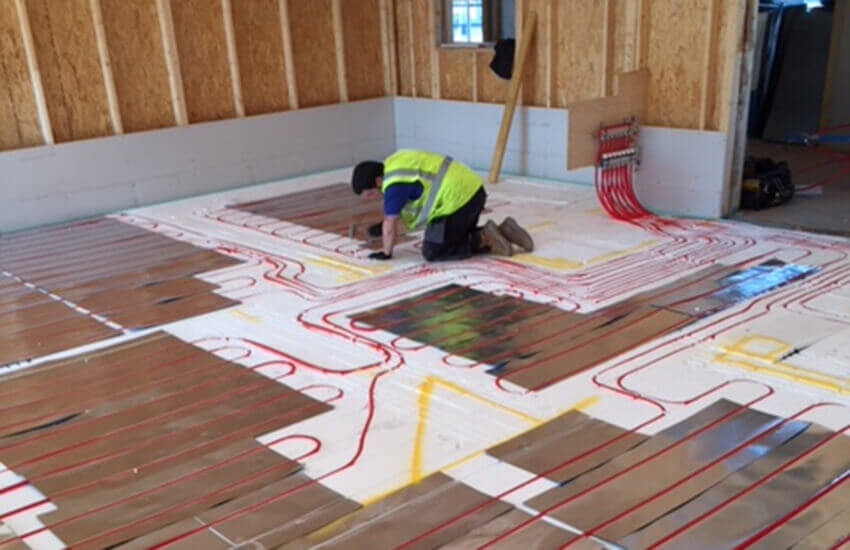 Underfloor Heating skilled tradesman