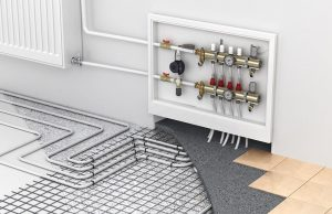How does an underfloor heating manifold work