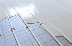 What is floor screed used for