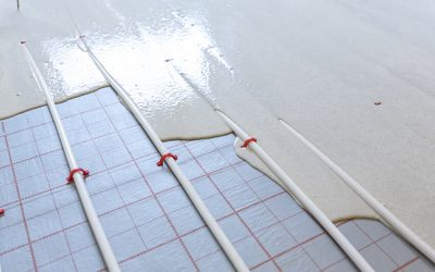 What is floor screed used for?