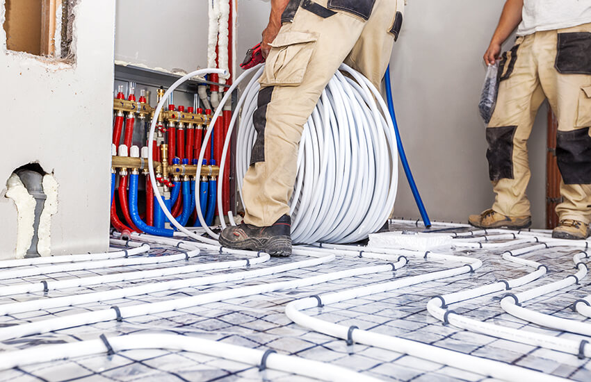 Why use an under floor heating specialists?